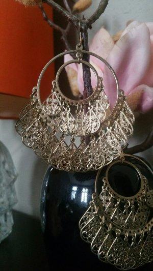 Chandeliers/Ohrringe im Gipsy/Orient Stil, gold, Bijou Brigitte; Kombiversandidee