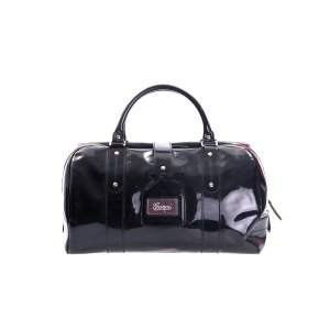 Black  Gucci Luggage