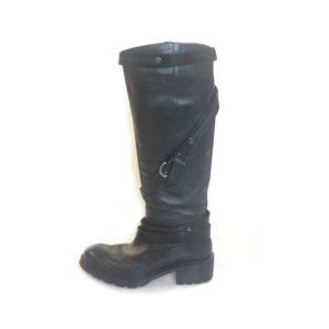 Black  Hogan Boot