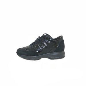 Black  Hogan Sneaker