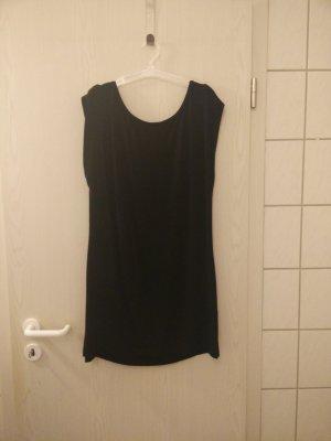 Black Jersey Kleid Rainbow.