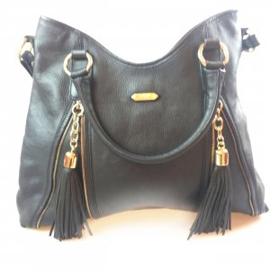 Black  Just Cavalli Shoulder Bag