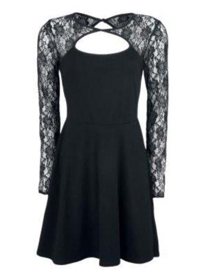 Black lace longsleeve Dress von Emp