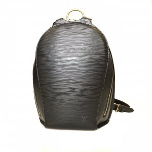 Black  Louis Vuitton Backpack