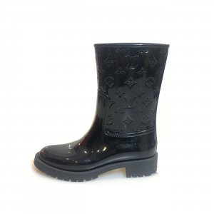 Black  Louis Vuitton Rain & Snow Boot