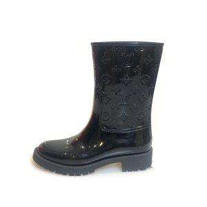 Black  Louis Vuitton Rain & Snow Boot