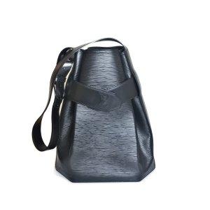 Louis Vuitton Schoudertas zwart