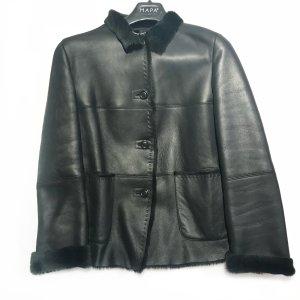 Black  Marella Leather Jacket