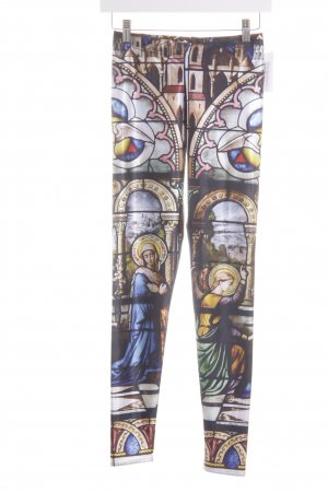 Black Milk Leggings estampado abstracto estilo extravagante