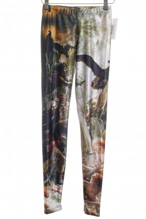 Black Milk Leggings Motivdruck Casual-Look