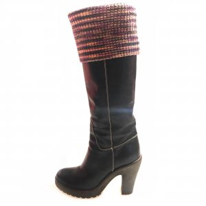 Black  Missoni Boot
