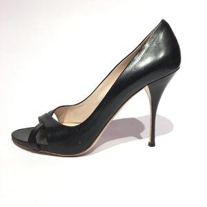 Miu Miu High-Heeled Sandals black