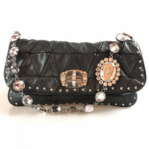 Black  Miu Miu Shoulder Bag