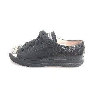 Black  Miu Miu Sneaker
