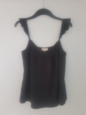Topshop Silk Top black