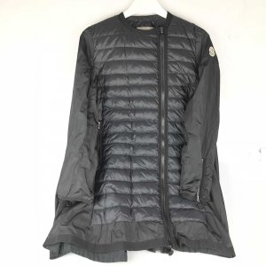 Black  Moncler Trench Coat