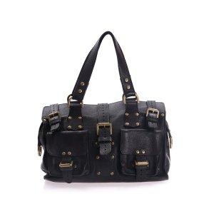 Black  Mulberry Shoulder Bag