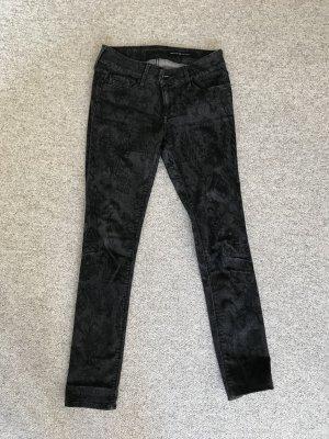 Black Orchid Jeans vita bassa multicolore