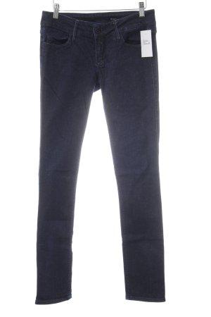 Black Orchid Jeans skinny blu scuro stile casual