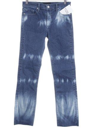 Black Orchid Jeans skinny bianco-blu acciaio puntinato stile stravagante