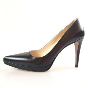 Prada Sandalo con tacco alto nero