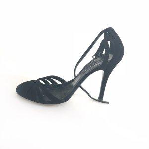 Ralph Lauren High-Heeled Sandals black