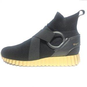 Black  Salvatore Ferragamo Sneaker