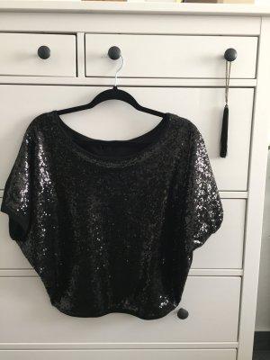 Black sequin blouse size 36-38