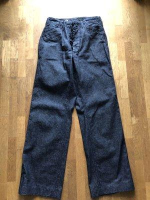 Pantalon Marlene bleu