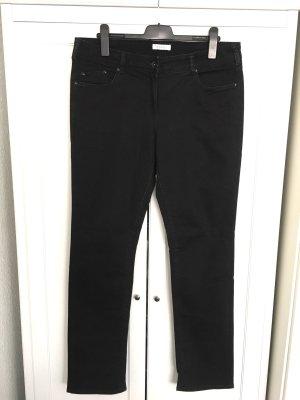 Black Skinny Jeans Gr. 46