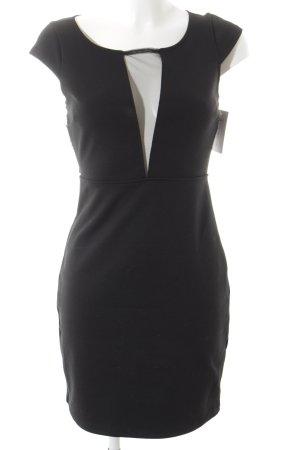 Black Swan Vestido de tela de jersey negro elegante
