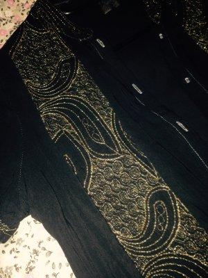 Black Swan Tunic Blouse sand brown-black