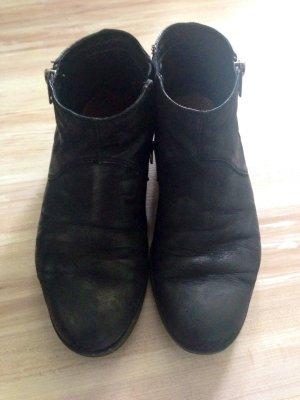 Black Vagabond Leder Schuhe