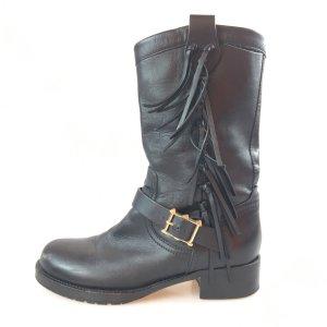 Black  Valentino Boot