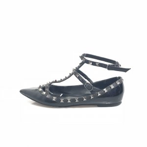 Black  Valentino Flat