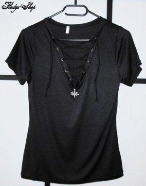 Black Vampire Gothic Dream Shirt Damen T-Shirt