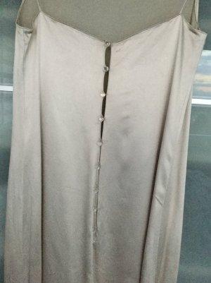 Bezauberndes silbergraues Kleid von DKNY