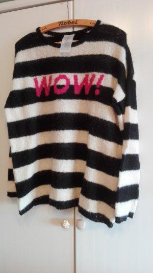 black/white Ringel/Strickpullover, FROGBOX, 40, Am 30. April schließe ich meinen Kleiderschrank!!!