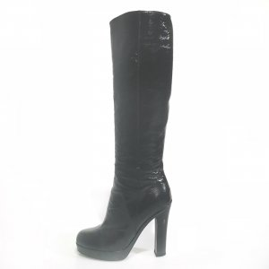 Black  Yves Saint Laurent Boot