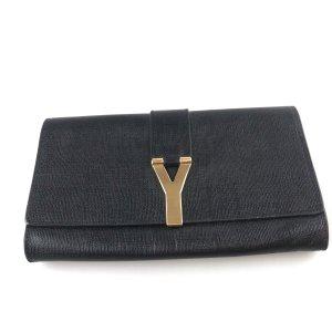 Yves Saint Laurent Clutch zwart