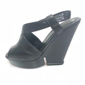 Yves Saint Laurent High-Heeled Sandals black