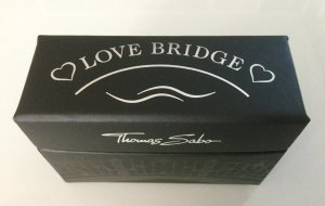 * ORIGINAL THOMAS SABO ARMBAND * LOVE BRIDGE * NEU *