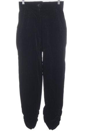Blacky Dress Pantalone a 7/8 nero stile stravagante