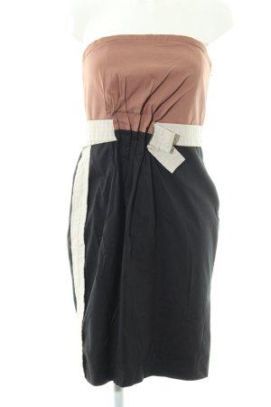 Blacky Dress Bandeaukleid mehrfarbig Business-Look