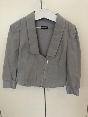 Blacky Dress Short Jacket slate-gray-light grey