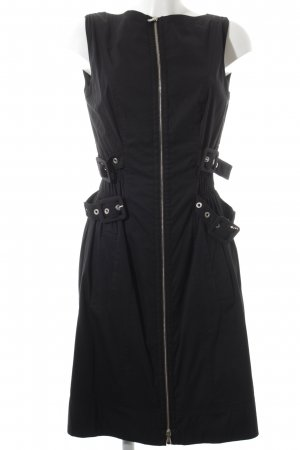 Blacky Dress Etuikleid schwarz extravaganter Stil