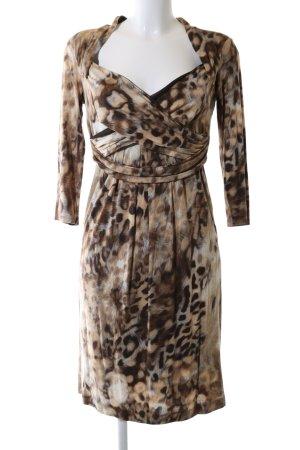 Blacky Dress Jerseykleid Leomuster Casual-Look