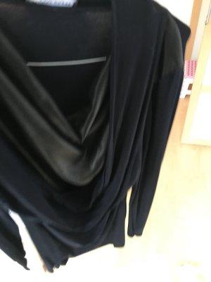 Blacky Dress Kleid schwarz mit Glänzenden Einsatz