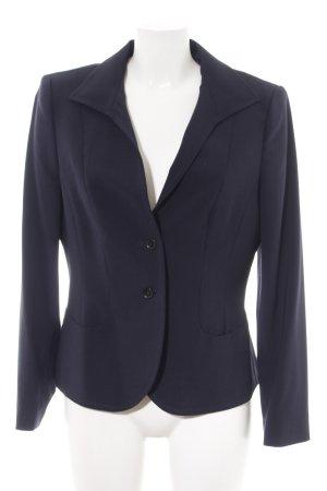Blacky Dress Kurz-Blazer blau Business-Look