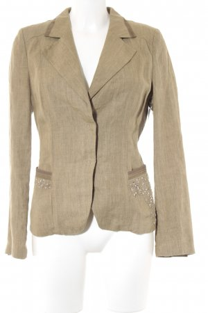 Blacky Dress Kurz-Blazer khaki-olivgrün extravaganter Stil